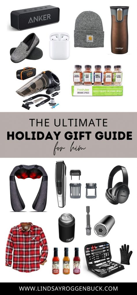 Ultimate Holiday Gift Guide for Him