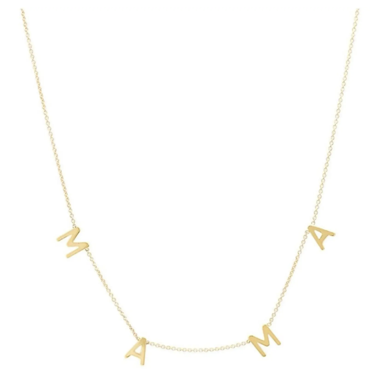 Mother's day gift idea - mama necklace