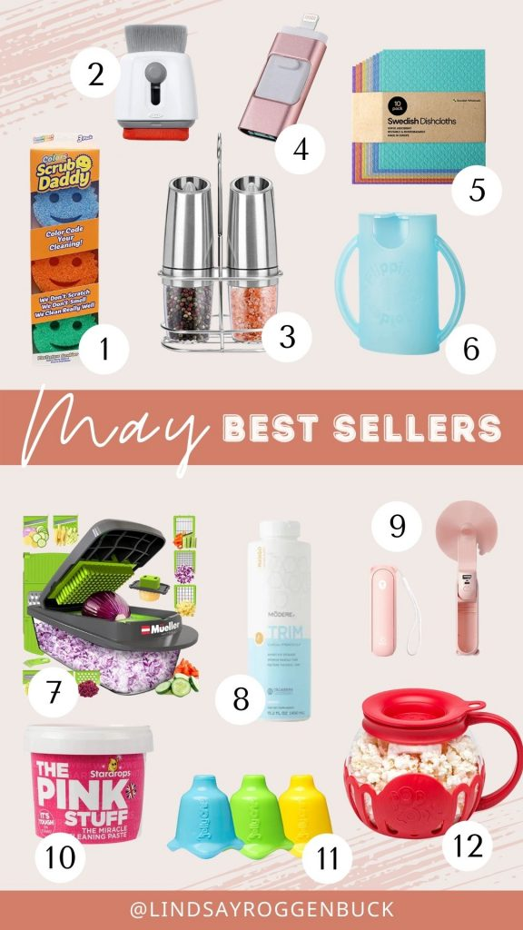 May best sellers from Amazon